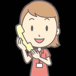 塾からの電話