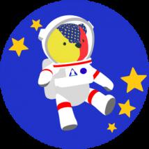 宇宙飛行士(クマ)