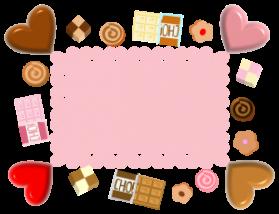 チョコレート(メッセージ付き)