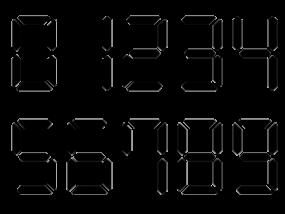 デジタル数字